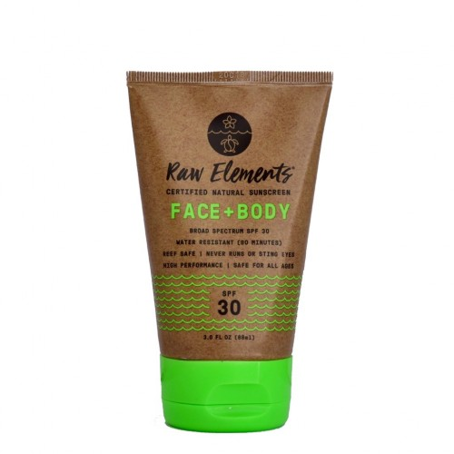 Raw Elements is Vegetarian, Cruelty-Free, Organic, and Gentle On Your Body